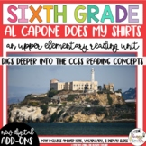 Sixth Grade Reading Unit - Al Capone Does My Shirts