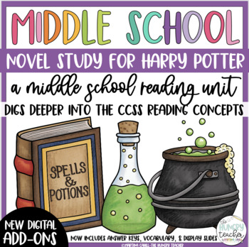 Sixth Grade Reading Unit - Harry Potter and the Sorcerer's Stone