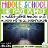 Sixth Grade Reading Unit - The Maze Runner