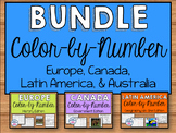 Sixth Grade Social Studies Color-by-Number Bundle