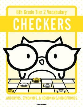 Sixth Grade Tier 2 Vocabulary Checkers