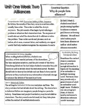 Sixth Grade Unit 1 Week 2 McGraw Hill Wonders