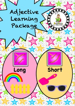 Size Adjective / Concept Learning Package inc. Long and Short