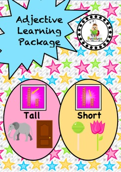 Size Adjective / Concept Learning Package inc. Tall and Short