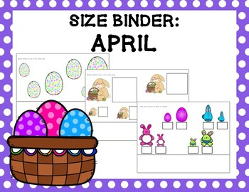 Size Binder: April