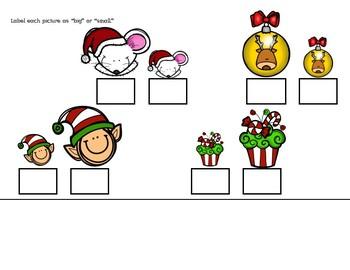 Size Binder: December