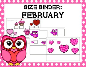 Size Binder: February