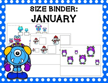 Size Binder: January