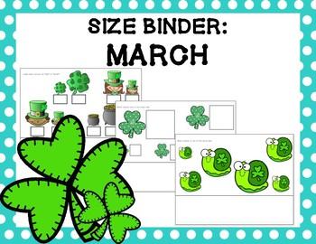 Size Binder: March