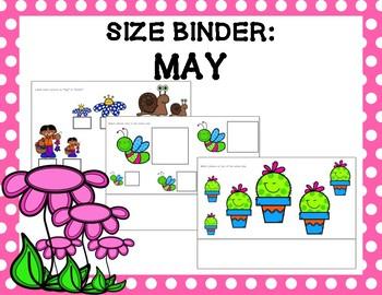 Size Binder: May