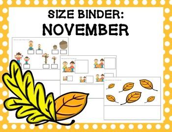 Size Binder: November