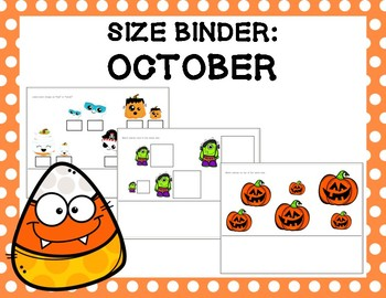 Size Binder: October
