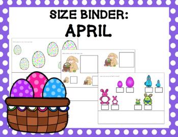 Size Binder Year Long Bundle