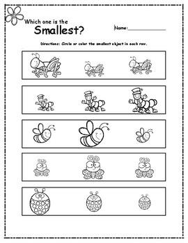 Size Concepts: Biggest/Smallest
