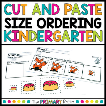 Ordering Objects By Size Teaching Resources Teachers Pay Teachers