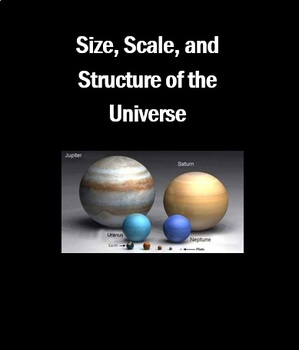 Space: Size, Scale, and Structure of the Universe