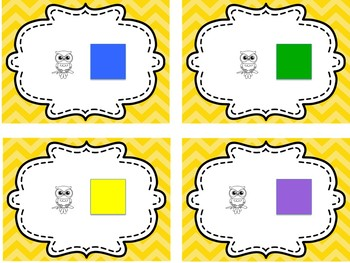 Size and Color Owl Matrix