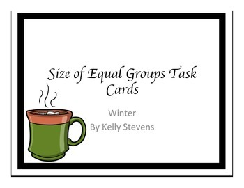 Size of Equal Groups - Partner Activity