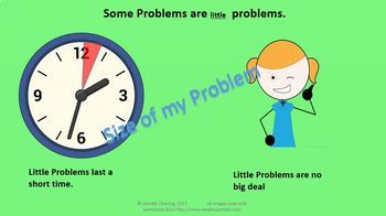 Size of my Problem and Problem-Solving Powerpoint/Social Story