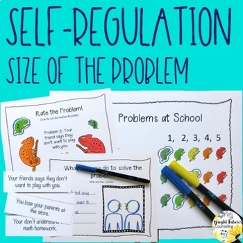 Size of the Problem Activity Pack - Self Regulation