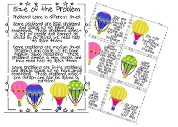 Size of the Problem Balloons
