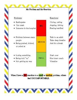 Size of the Problem Behavior Reflection