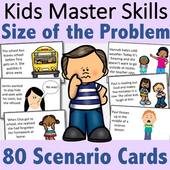Size of the Problem Activities, Scenario Cards, and Posters