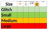 Size of the Problem Fill in Chart