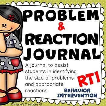 Size of the Problem: Journal RTI Behavior Intervention