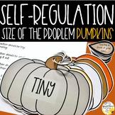Size of the Problem Pumpkins Flip Book - Self-Regulation