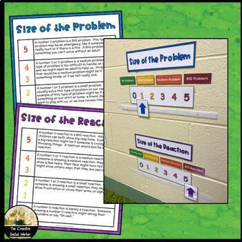 Size of the Problem / Reaction Interactive Poster Set