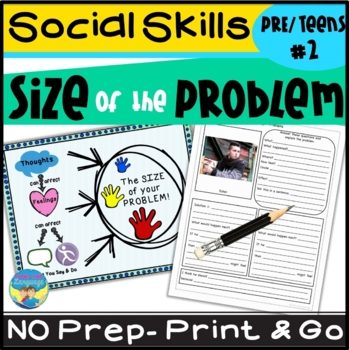Size of the Problem Social Skills Activities for Teens 2