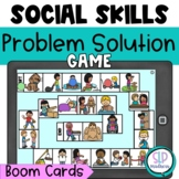 Size of the Problem Social Skills Boom Card Game Speech Th