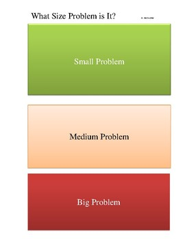 Size of the Problem Sort