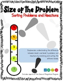 Size of the Problem: Sorting Problems and Reactions