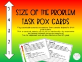 Size of the Problem Task Box Cards