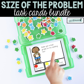 Size of the Problem Task Cards BUNDLE