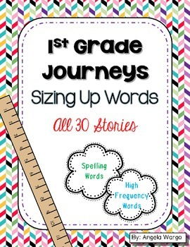 Sizing Up Words - 1st Grade Journeys Word Puzzles