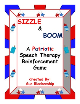 Sizzle & Boom!  A Patriotic Reinforcement Game