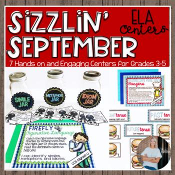 Sizzlin' September {ELA Centers}