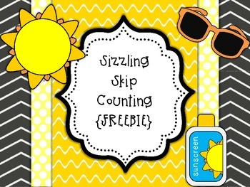 Sizzling Skip Counting {FREEBIE}