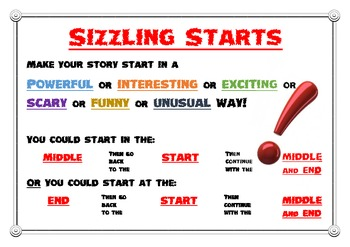 Sizzling Starts Poster