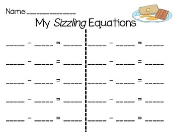 Sizzling Subtraction