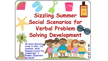 Sizzling Summer Social Scenarios for Verbal Problem Solving Development