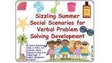 Sizzling Summer Social Scenarios for Verbal Problem Solving Development