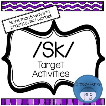 S-Blends - Sk Activity Pack