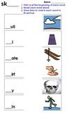 Sk Blend Matching Worksheet 2
