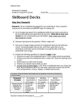Sk8board Decks