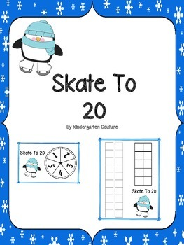 Skate To 20  -A Place Value Game