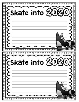 Skate into the New Year- Resolution activity 2017-2025